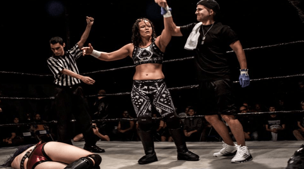 ECCW makes wrestling history with 'Last Woman Standing' match