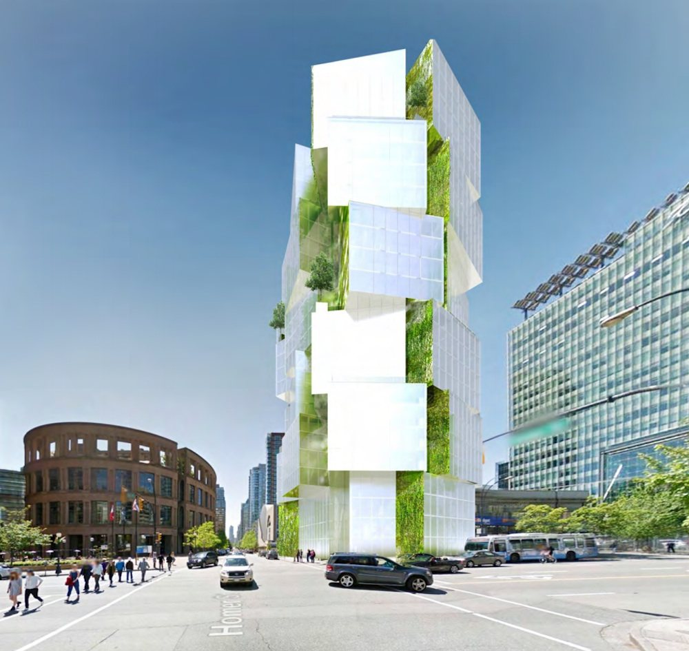 Downtown Vancouver: 'Green Lamp' Office Tower Could Change The Face Of