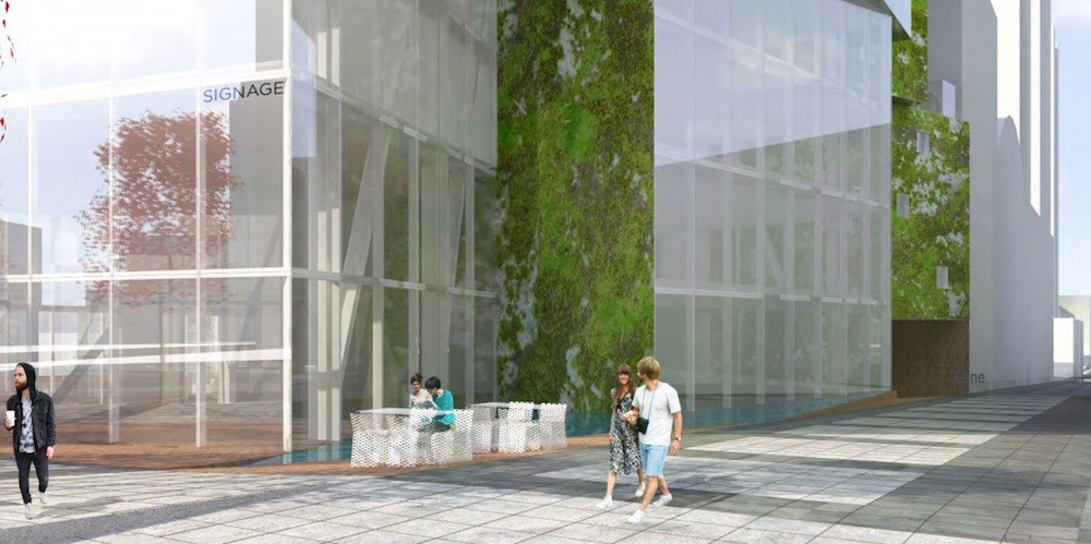 Landmark Green Lamp Office Tower Could Change The Face