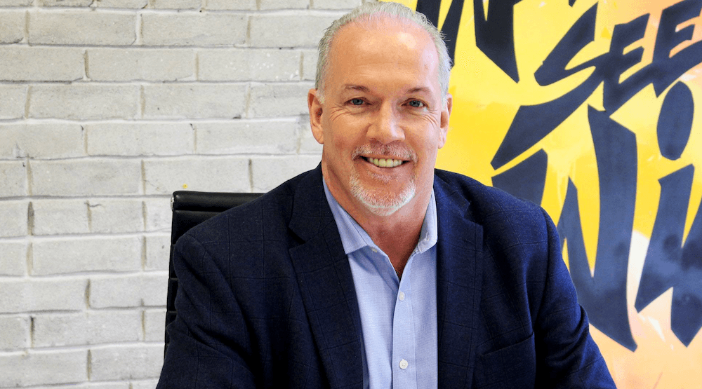 BC Premier John Horgan ranked most favourable premier in Canada
