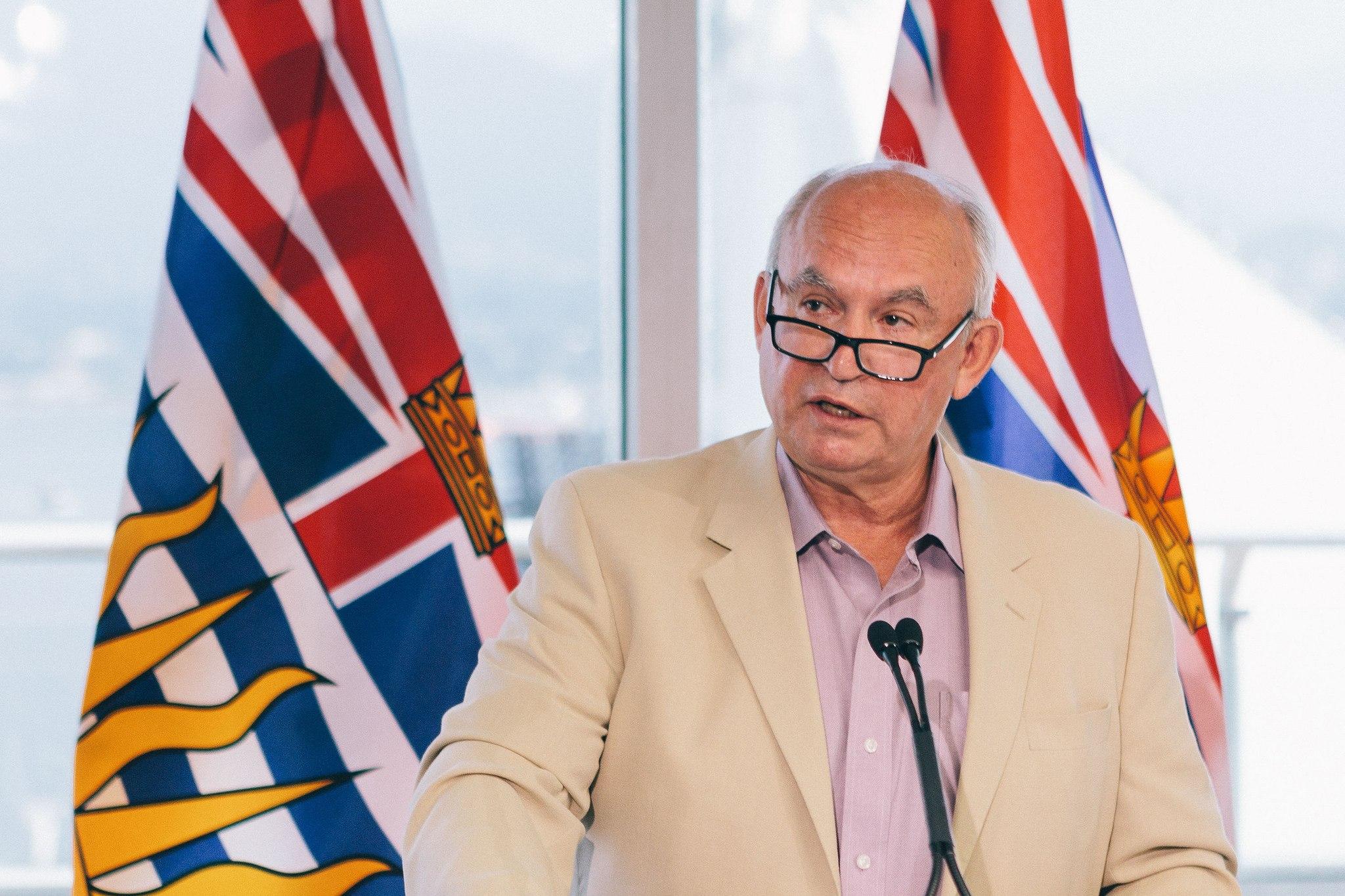 Former minister Bill Bennett (Province of BC/Flickr)