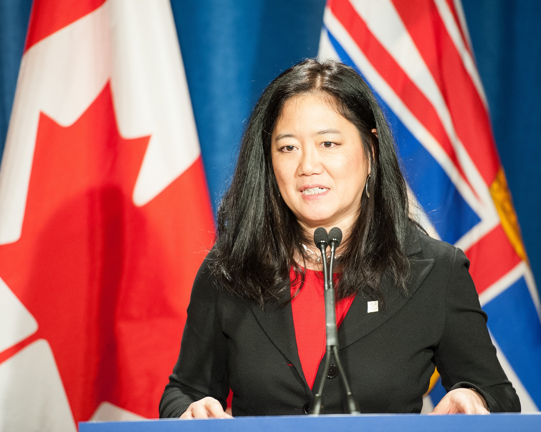 Former minister Naomi Yamamoto (Province of BC/Flickr)