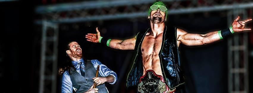 Wrestling El Phantasmo and Kris Kassidy