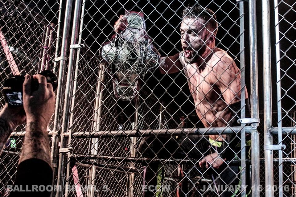 Wrestling El Phantasmo Ballroom Brawl 5