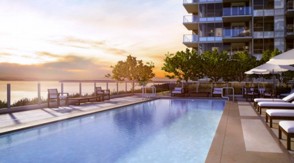Miramar Village: Oceanview condos in White Rock offer the ultimate beach lifestyle, a private rooftop pool and luxury design