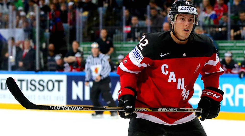 Team Canada loses Tyson Barrie for remainder of tournament after hotel room wrestling injury
