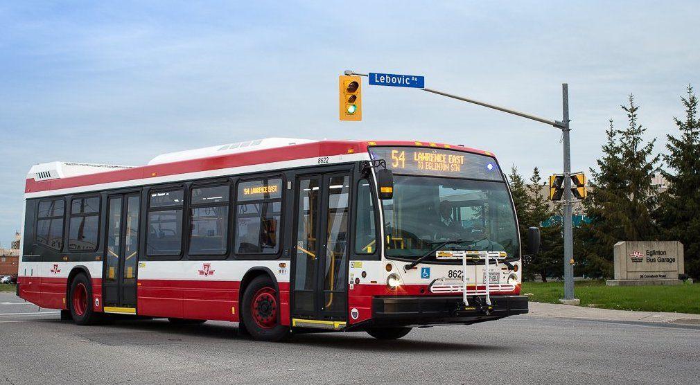 TTC NOVA buses