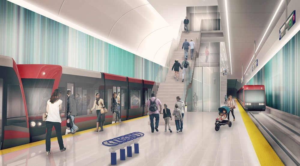 Green Line LRT now half as long with price tag of $4.6 billion