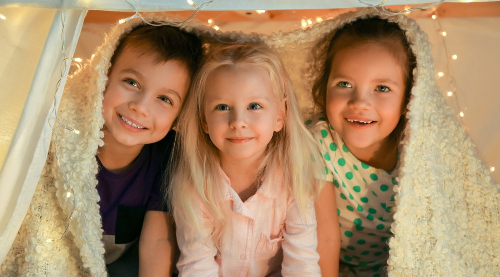 Build a blanket fort this Saturday and help sick kids