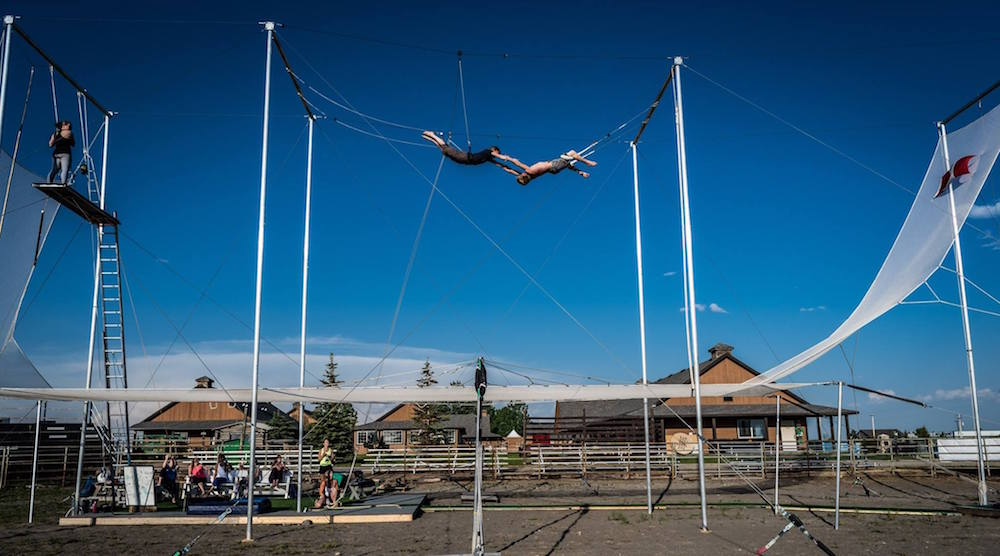 Rocky Mountain Flying Trapeze comes to Calgary with classes for everyone