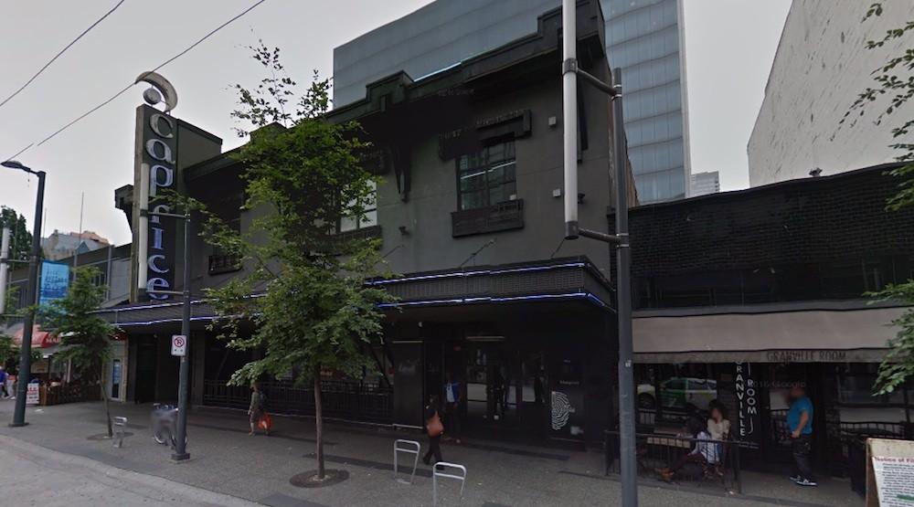 Caprice nightclub granville street