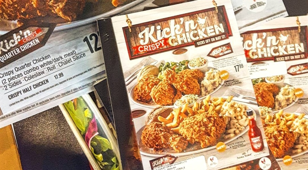 Swiss Chalet confirms it's launching crispy fried chicken this week