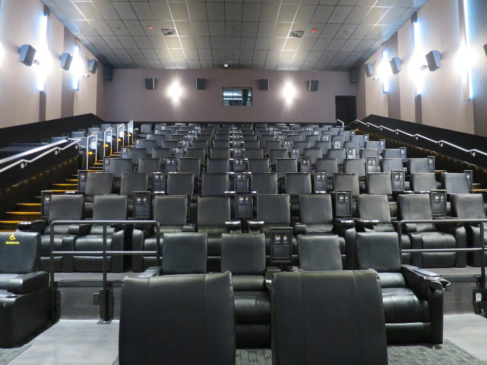 Massive Cineplex entertainment centre with 'Playdium ...