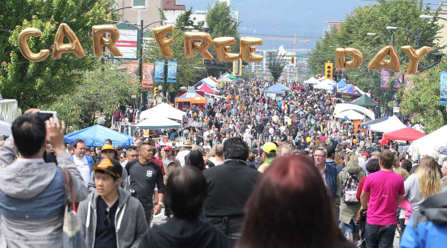 Car free day vancouver facebook 2