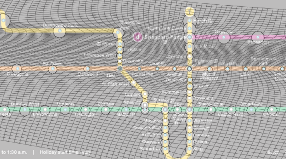 See how the new TTC map compares to Toronto's actual geography (MAP)