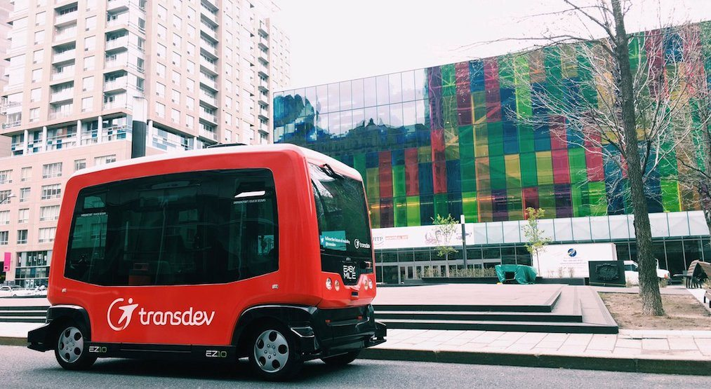 Driverless transit shuttles are hitting Toronto streets next year