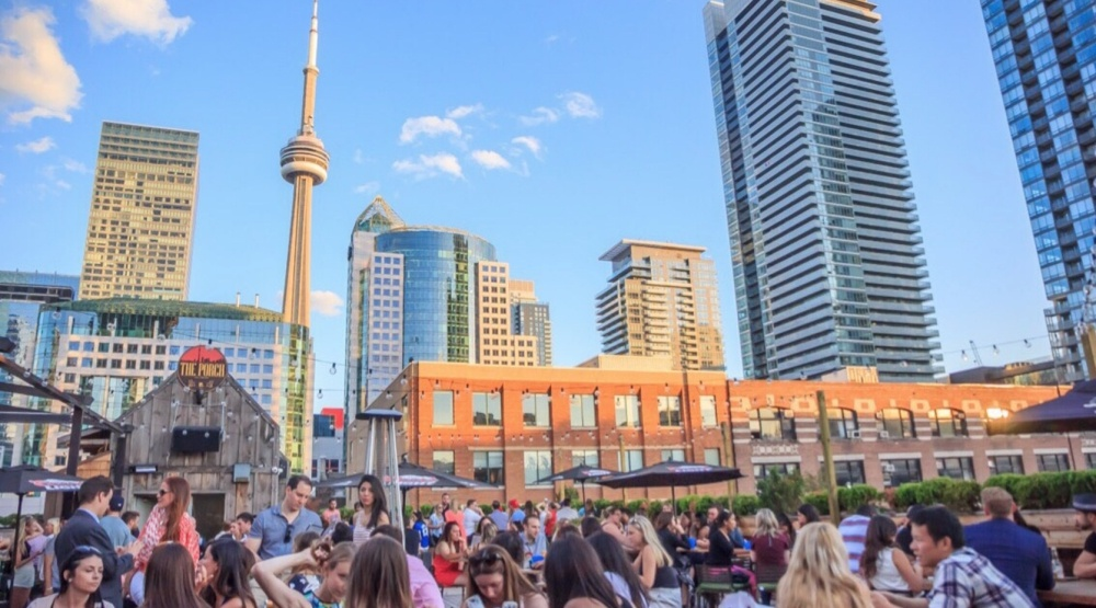 Toronto patio charging big (and discretionary) cover charge