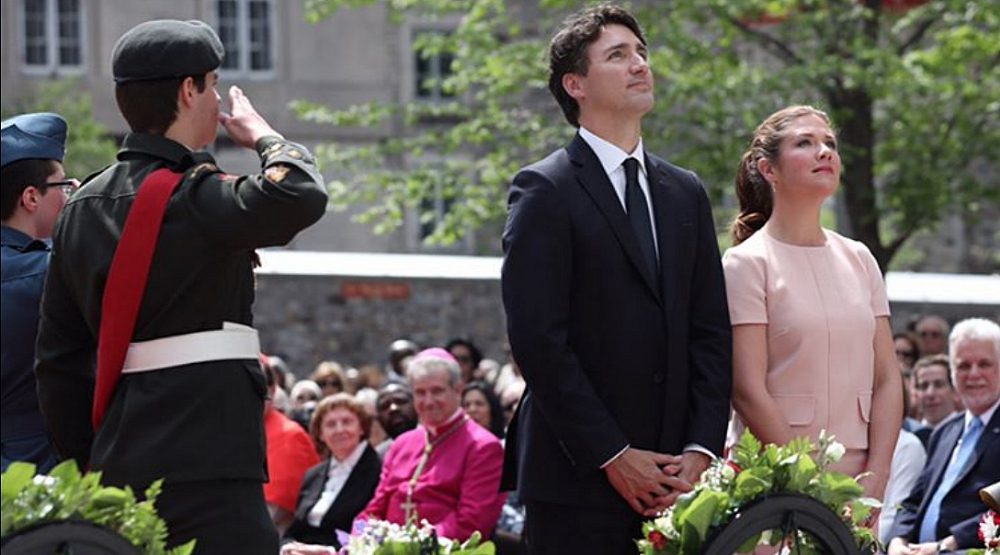14 photos of Justin Trudeau celebrating Montreal's 375th anniversary