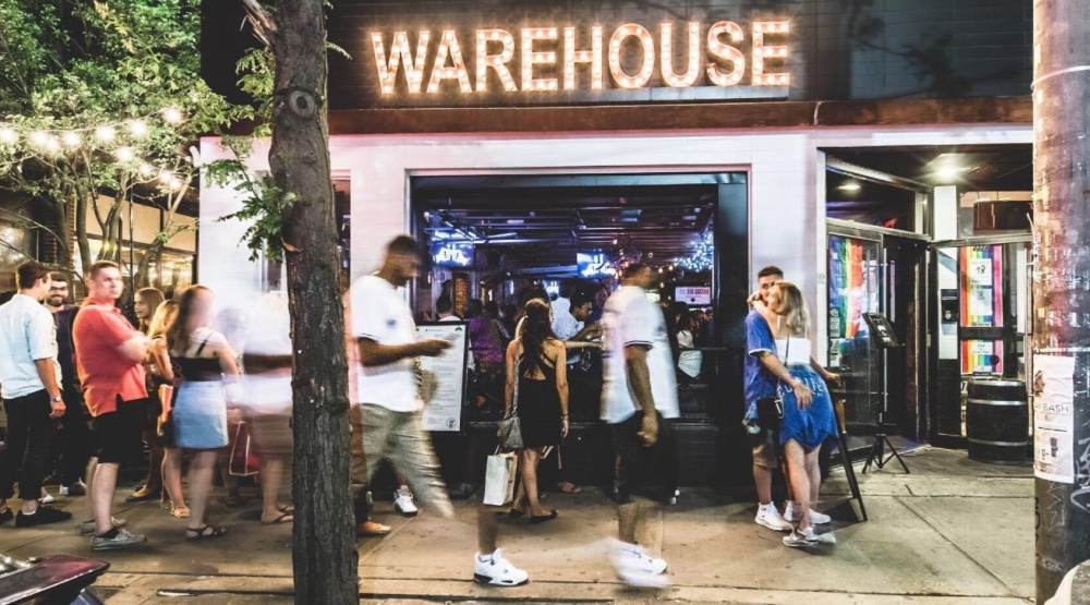 El furniture warehouse is taking over sunrise records on for L furniture warehouse