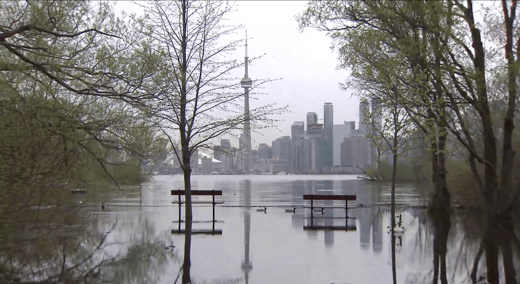 Toronto Island will be closed on the long weekend as water levels continue to rise