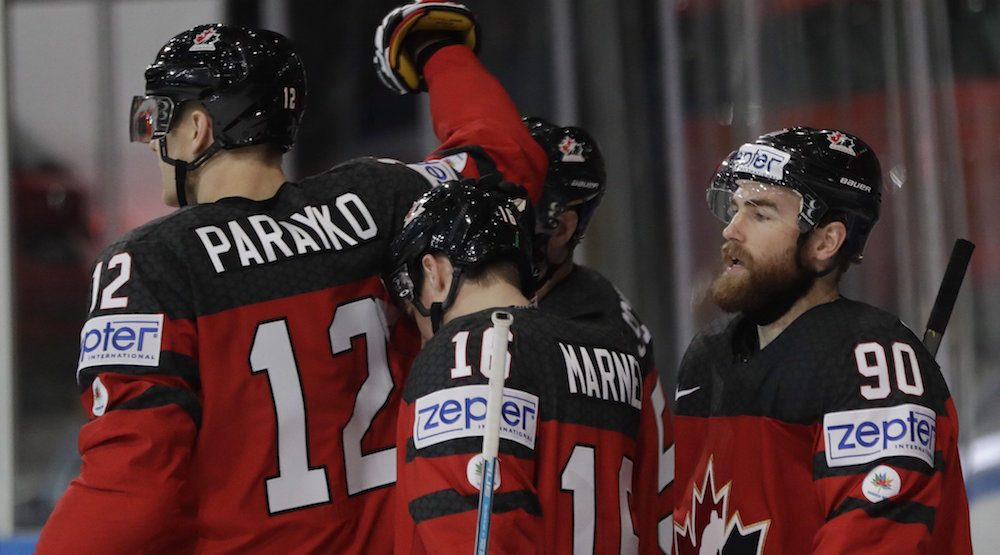 Canada beats Germany, will play Russia in semis at IIHF World Championships