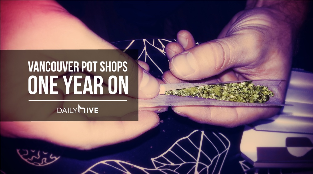 Only 10 Vancouver pot shops have been licensed in the last year