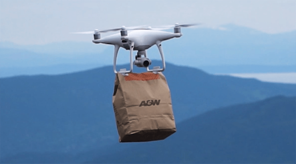 Local Instagrammer surprises friends with A&W breakfast drone delivery at sunset