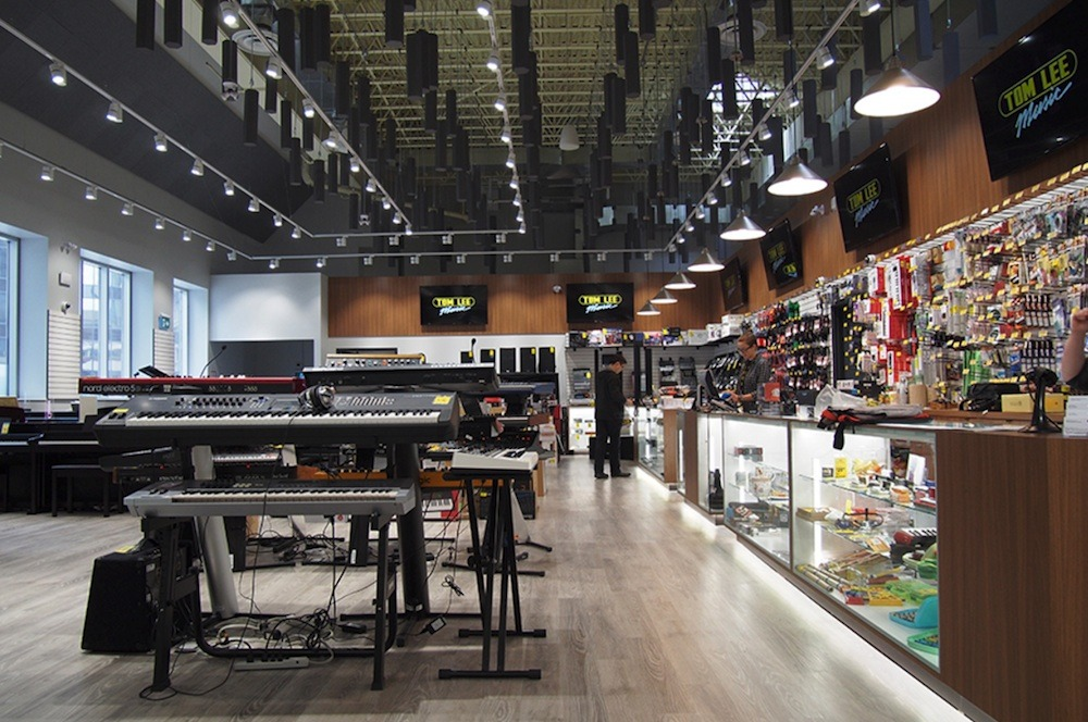 New Tom Lee Music Flagship Vancouver Store Opens Daily