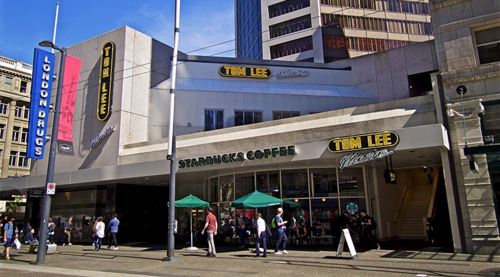 Tom lee music vancouver store 1