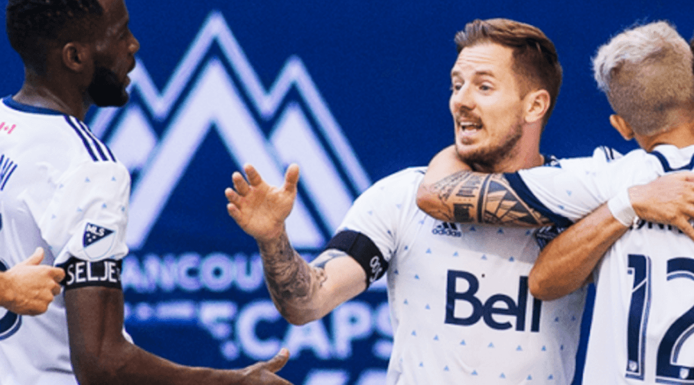 Techera 'golazo' helps Whitecaps to big win over Sporting Kansas City
