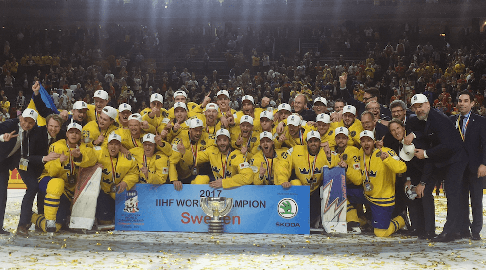 World Champions: Sweden beats Canada in shootout for gold medal