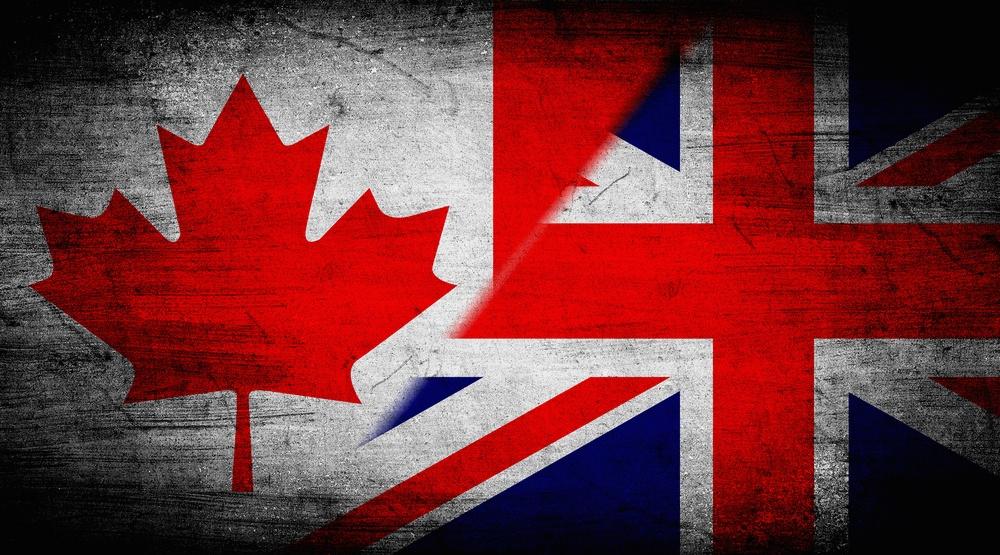 Canada british flag