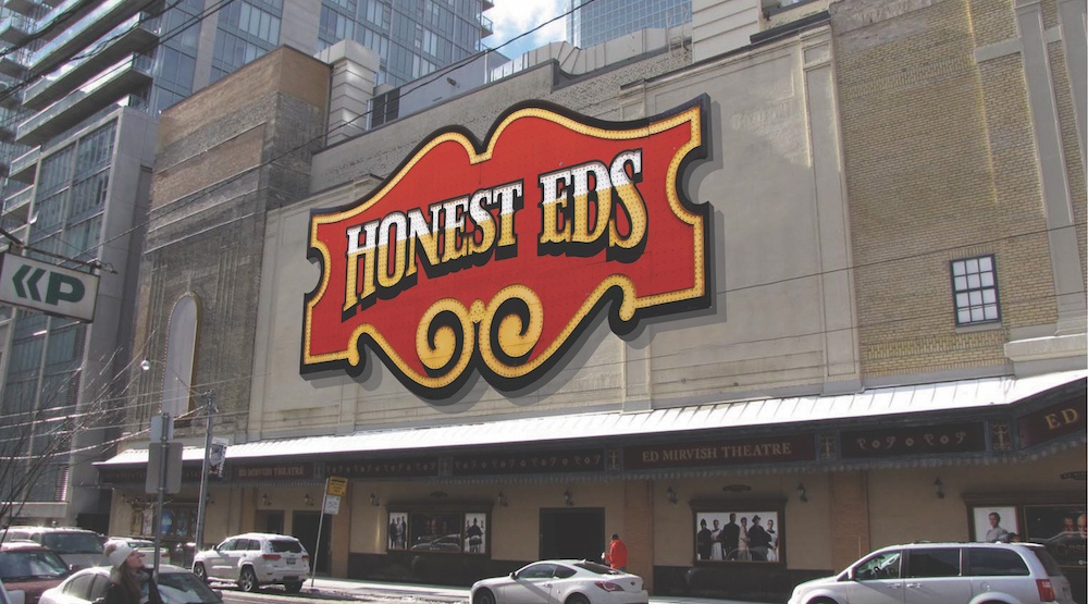 End of an era: Honest Ed's sign is being taken down today