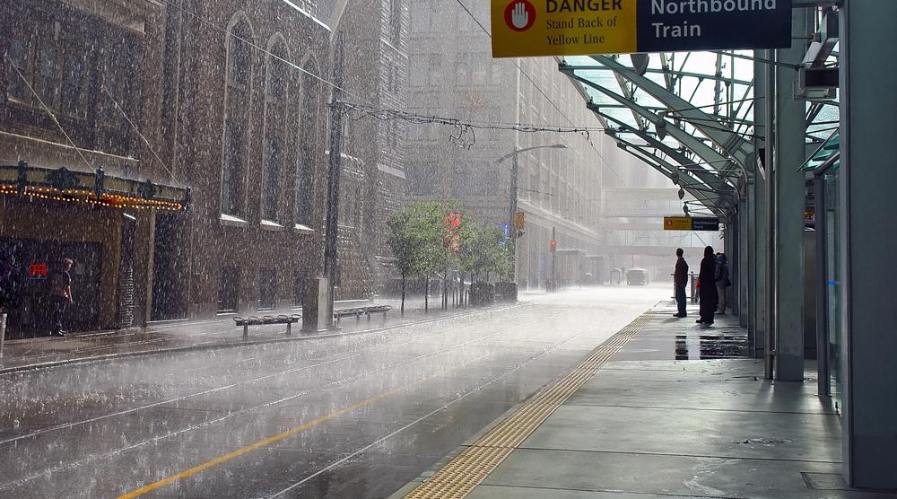 Calgary rain shutterstock