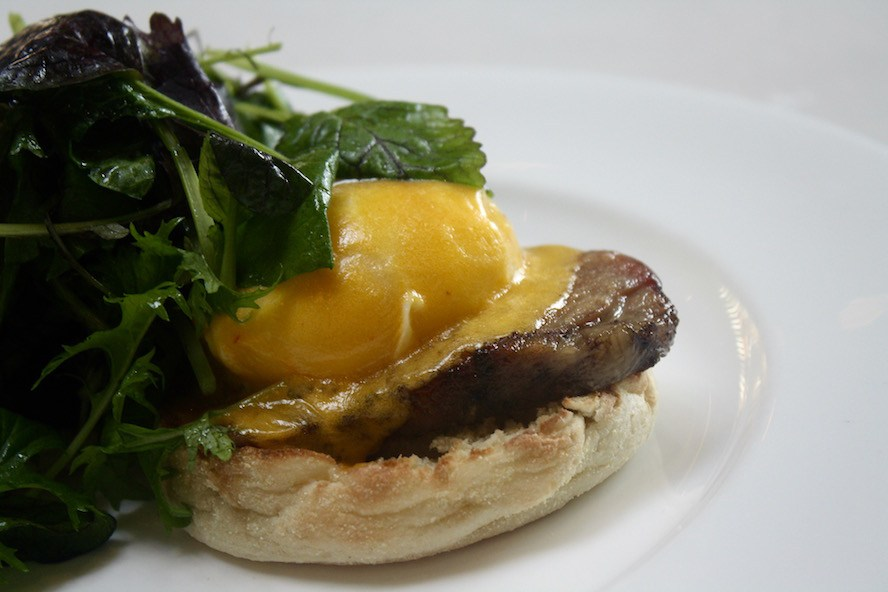 West Restaurant_Eggs Benedict