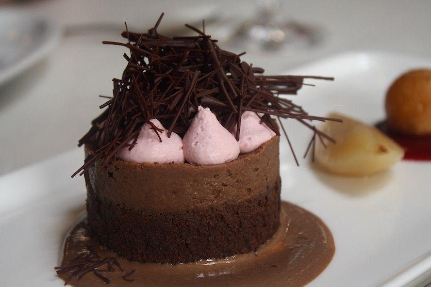 West Restaurant_Dark Chocolate Baked Pudding