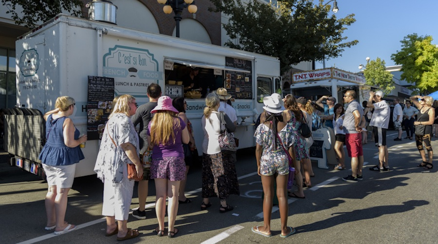 Columbia StrEAT Food Truck Fest rolls into New Westminster this July with 150 vendors and 8 beer gardens