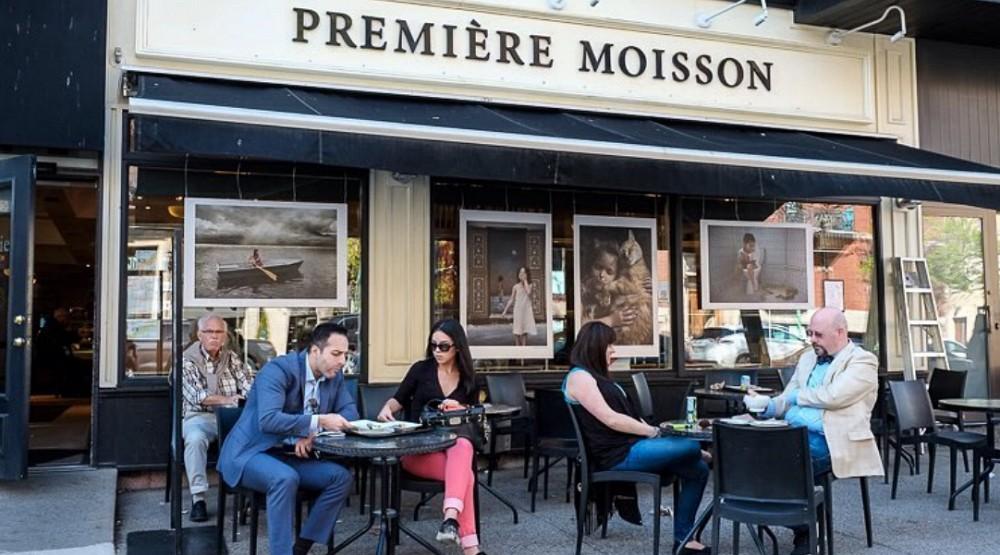 Talking window art has taken over a Montreal neighbourhood