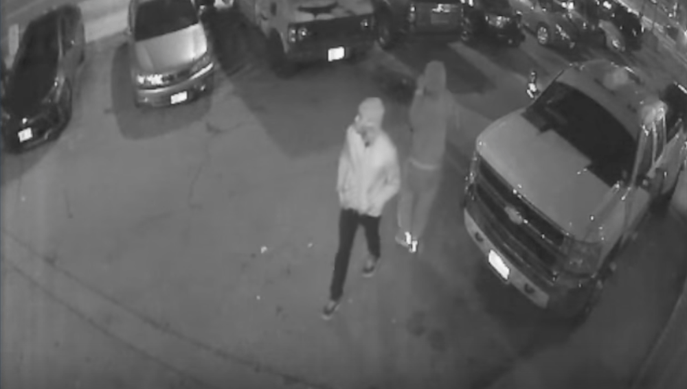 Police release video of suspects in a Toronto homicide investigation