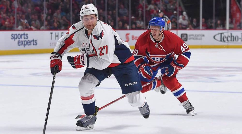 Canadiens sign free agent defenceman Karl Alzner to 5-year contract