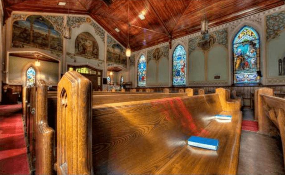 Historic Ontario church up for sale with starting bid of just $1 (PHOTOS)