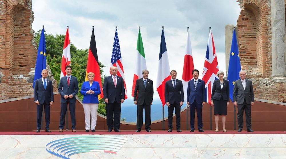Znalezione obrazy dla zapytania g7 foto 2018