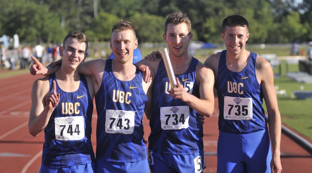 Ubc track national champions