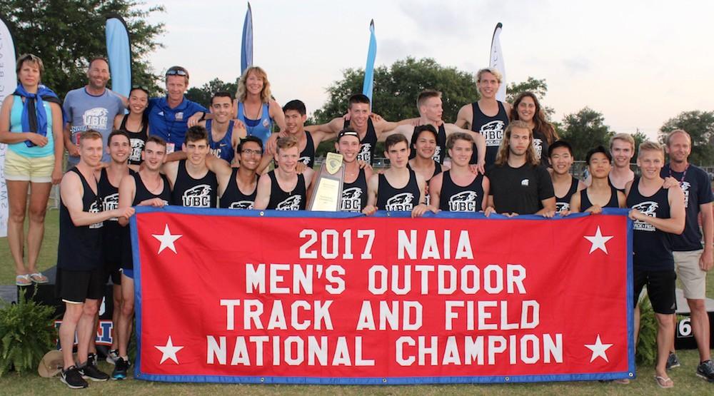 ubc track champions naia