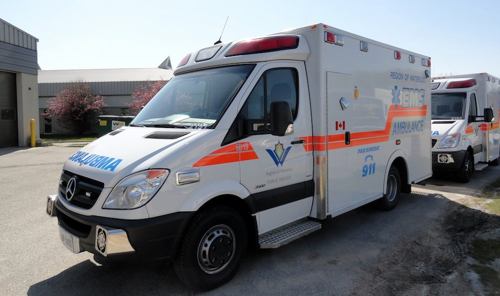 Man charged after stealing an ambulance and driving it around the GTA