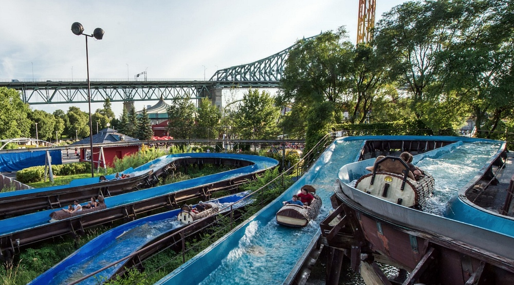 La Ronde's classic log flume ride has officially shut down