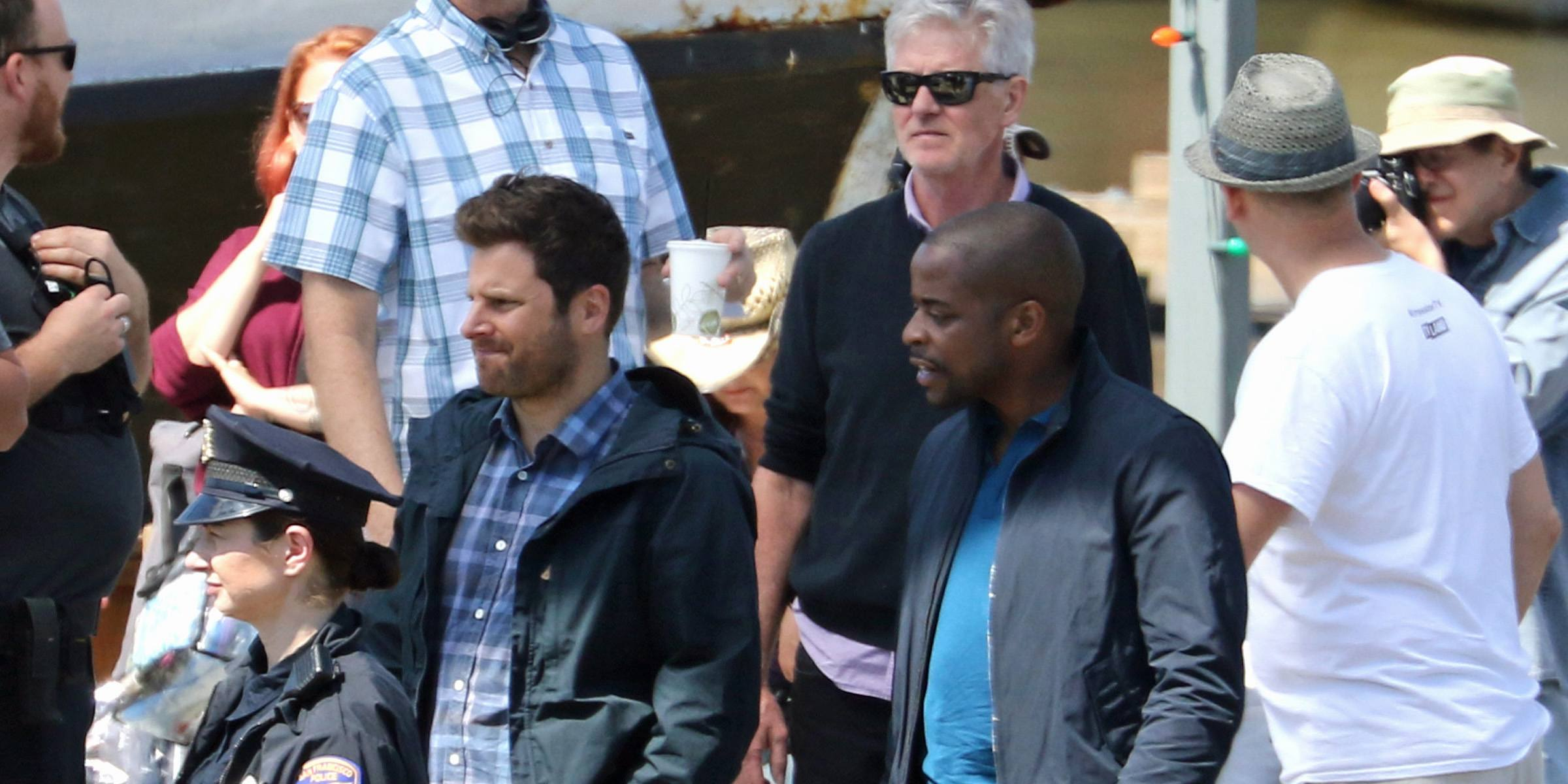 'Psych the Movie' filming in Vancouver (PHOTOS)