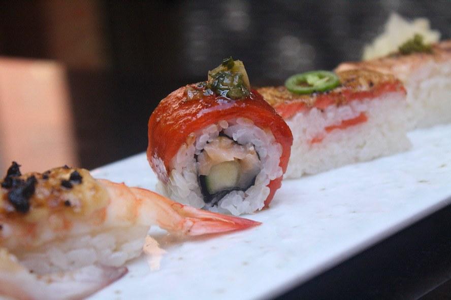Minami Spring Menu_Aburi sushi 4