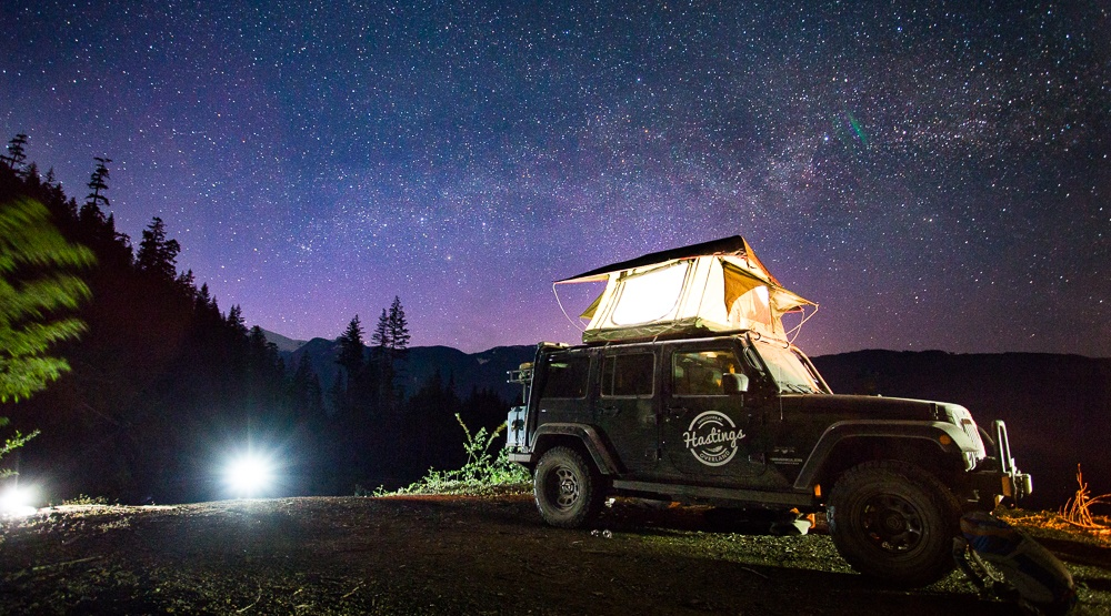 Win a 2-night adventure with Vancouver's first overland rental company, Hastings Overland (CONTEST)