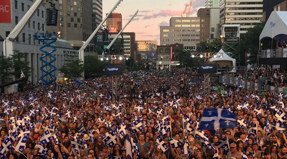 A massive free concert is happening in Montreal for St. Jean Baptiste Day